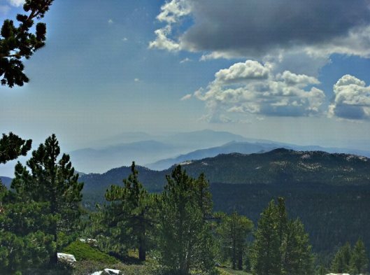a view from 9700 ft